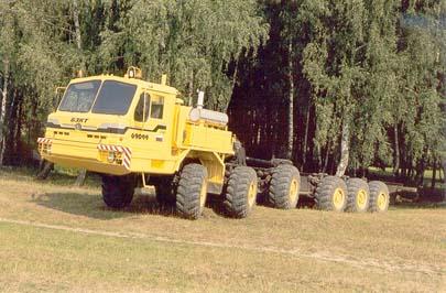 Специальное колёсное шасси БАЗ-69099 (колёсная формула 12x12), с 1999 г.