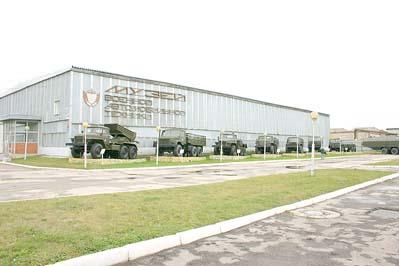 Музей военной автомобильной техники, г. Рязань, 09 октября 2009 года