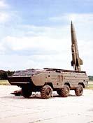 Самоходная пусковая установка тактического ракетного комплекса Сухопутных войск Точка на шасси БАЗ-5921
